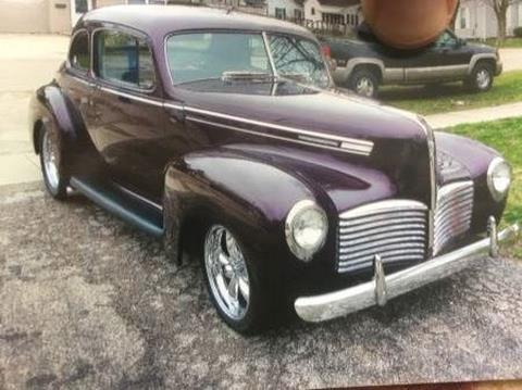 1941 Hudson Business Coupe for sale in Cadillac, MI