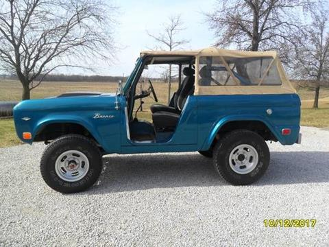Ford Bronco For Sale In Cadillac Mi