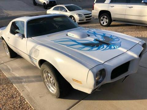 1973 Pontiac Trans Am for sale in Cadillac, MI