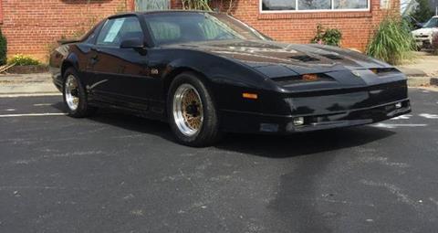 1989 Pontiac Firebird for sale in Cadillac, MI