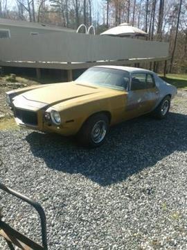 1972 Chevrolet Camaro for sale in Cadillac, MI