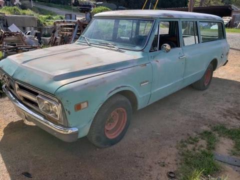 1969 GMC Suburban for sale in Cadillac, MI