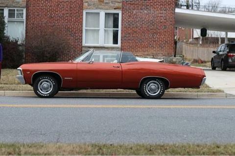 1967 Chevrolet Impala for sale in Cadillac, MI