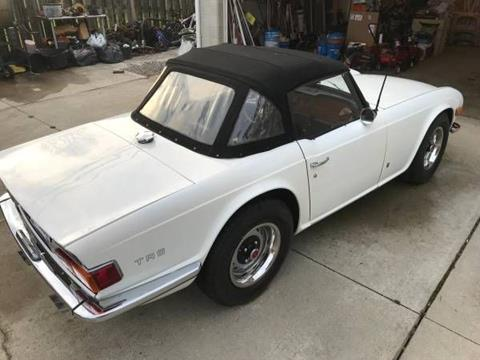 1971 Triumph TR6 for sale in Cadillac, MI
