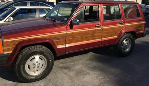 1986 Jeep Wagoneer for sale in Cadillac, MI