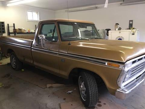 1973 Ford F-100 for sale in Cadillac, MI