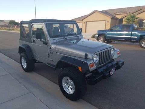 2002 Jeep Wrangler for sale in Cadillac, MI