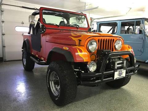 1986 Jeep CJ-7 for sale in Cadillac, MI
