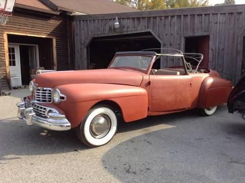 used 1948 lincoln continental for sale. Black Bedroom Furniture Sets. Home Design Ideas