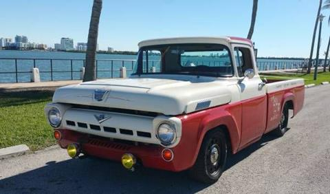 1957 Ford F-100 for sale in Cadillac, MI