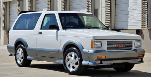 1993 GMC Typhoon for sale in Cadillac, MI