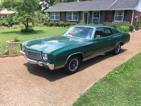 1970 Chevrolet Monte Carlo For Sale Carsforsale Com