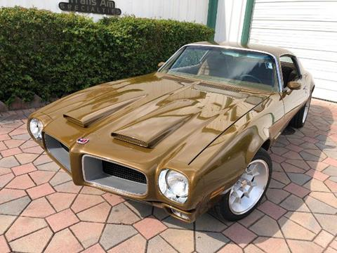 1971 Pontiac Firebird for sale in Cadillac, MI