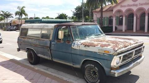 1972 Ford F-250 for sale in Cadillac, MI