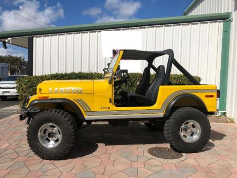 1982 Jeep Wrangler for sale in Cadillac, MI