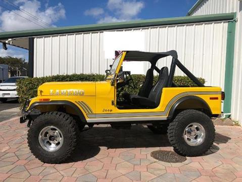 1982 Jeep Wrangler for sale in Cadillac, MI