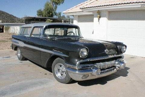1957 Pontiac Safari for sale in Cadillac, MI