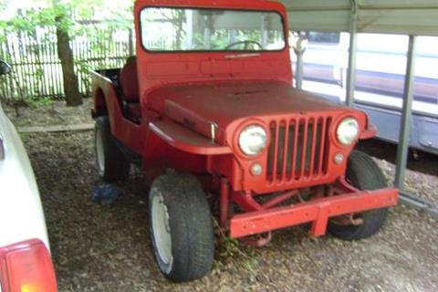 1950 Jeep CJ-7 for sale in Cadillac, MI