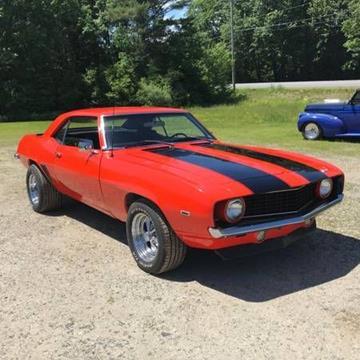 1969 Chevrolet Camaro For Sale In Cadillac Mi