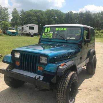 1987 Jeep Wrangler for sale in Cadillac, MI