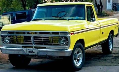 1973 Ford F-250 for sale in Cadillac, MI