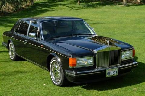 1991 Rolls Royce Silver Spur For Sale In Cadillac MI