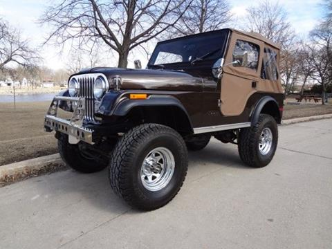 1980 Jeep CJ-5 for sale in Cadillac, MI