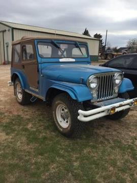 1966 Jeep CJ-5 for sale in Cadillac, MI