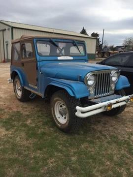 1966 Jeep CJ-5 for sale in Cadillac, MI