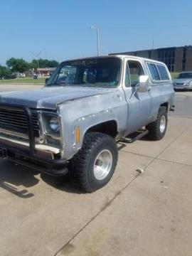 1979 Chevrolet Blazer for sale in Cadillac, MI