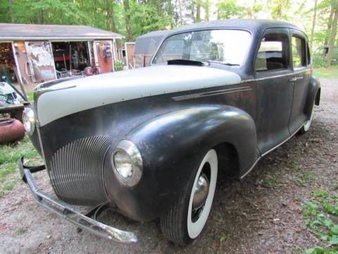 1940 Lincoln Zephyr For Sale In Hurst Il Carsforsale Com
