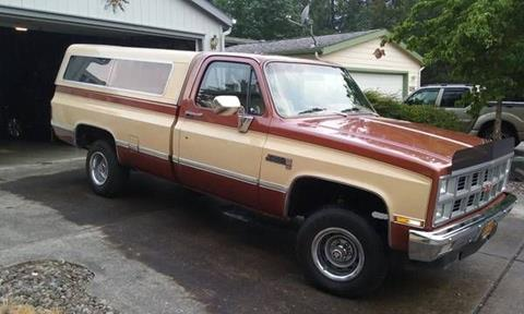 1982 GMC C/K 1500 Series for sale in Cadillac, MI
