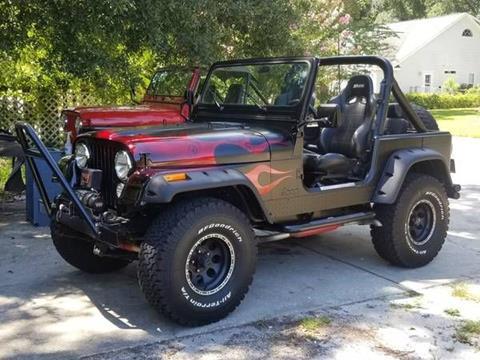 1984 Jeep CJ-7 for sale in Cadillac, MI