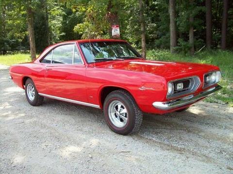1967 Plymouth Barracuda for sale in Cadillac, MI