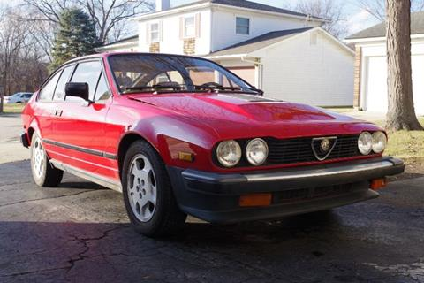 Used 1984 Alfa Romeo Gtv6 For Sale Carsforsale Com
