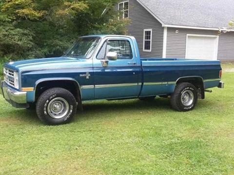 1987 Chevrolet Silverado 1500 For Sale In Michigan Carsforsale Com