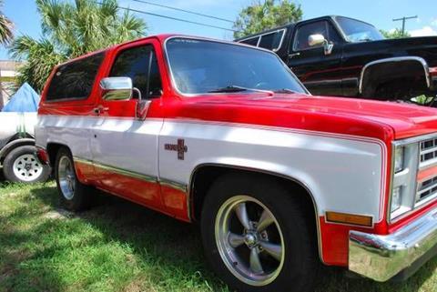 1982 Chevrolet Blazer for sale in Cadillac, MI