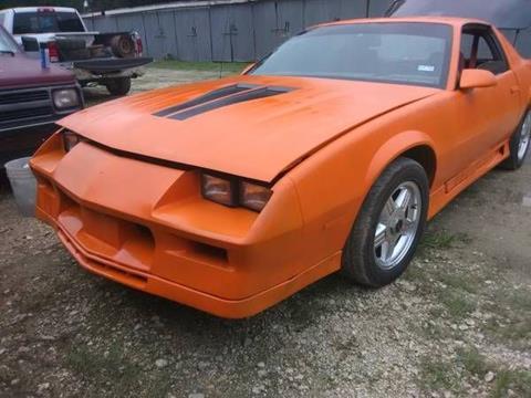 1984 Chevrolet Camaro For Sale Carsforsale Com