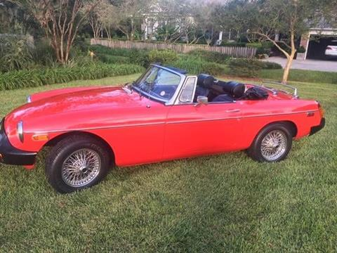 1976 MG MGB for sale in Cadillac, MI