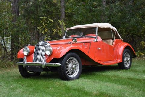 1954 MG TF for sale in Cadillac, MI