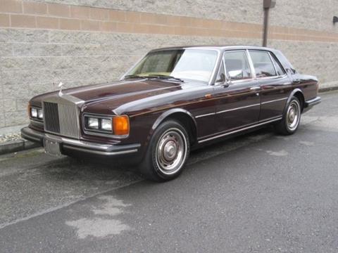 1981 Rolls-Royce Silver Spirit for sale in Cadillac, MI