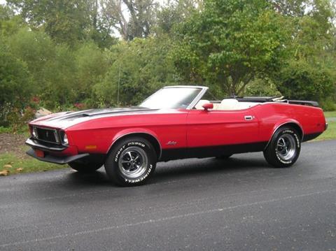 Mustang mach 1 convertible