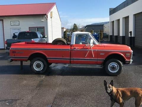 1970 GMC Sierra 2500 for sale in Cadillac, MI