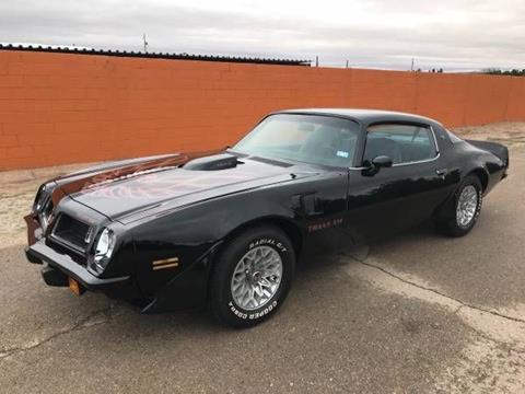 1975 Pontiac Trans Am for sale in Cadillac, MI