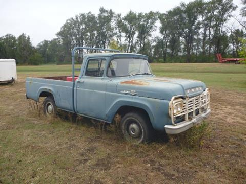 1959 Ford F-100 for sale in Cadillac, MI