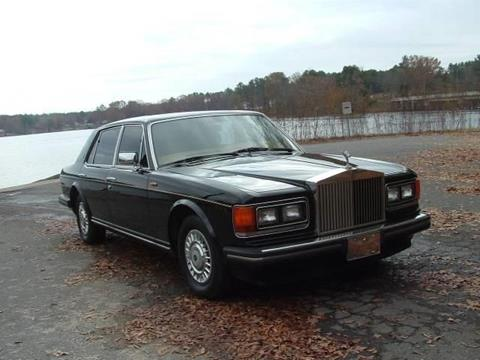 1989 Rolls-Royce Silver Spur for sale in Cadillac, MI