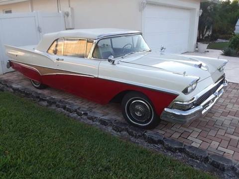 1958 Ford Fairlane for sale in Cadillac, MI