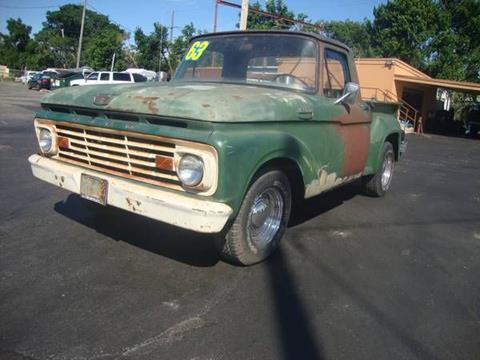 1963 Ford F-100 for sale in Cadillac, MI