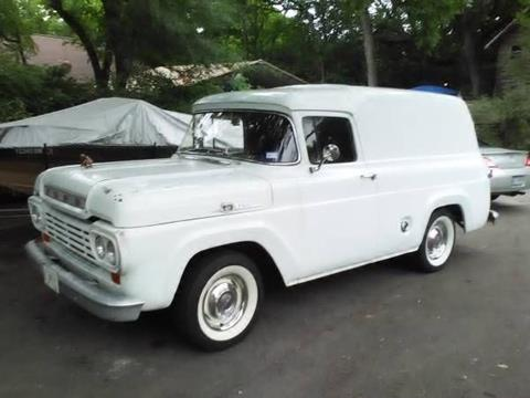 1959 Ford Panel Truck for sale in Cadillac, MI