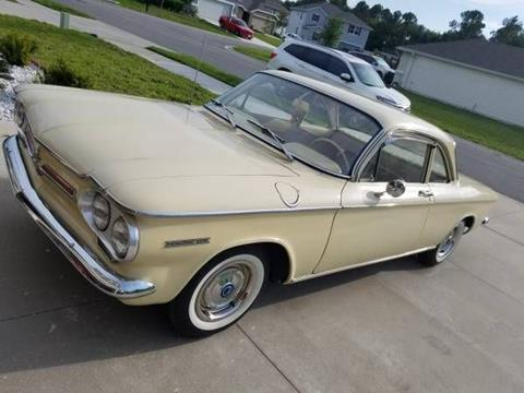 1962 Chevrolet Corvair For Sale In Cadillac MI